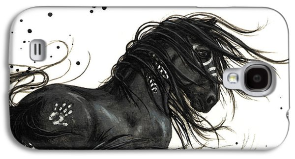 Majestic Friesian Horse Galaxy S4 Case