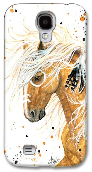 Majestic Palomino Horse 84 Galaxy S4 Case by AmyLyn Bihrle