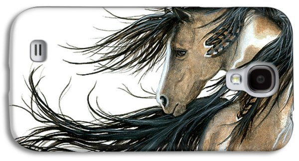 Majestic Horse Series 89 Galaxy S4 Case by AmyLyn Bihrle