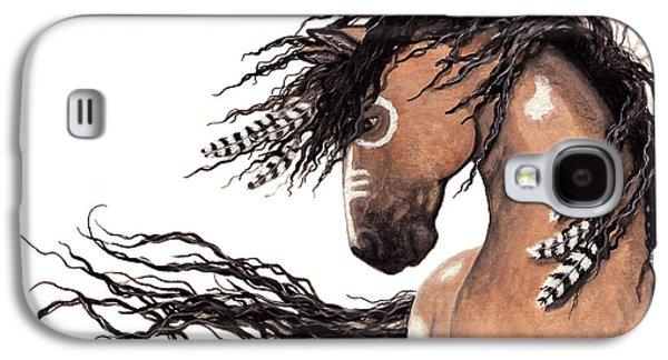 Majestic Paint Horse 43 Galaxy S4 Case by AmyLyn Bihrle