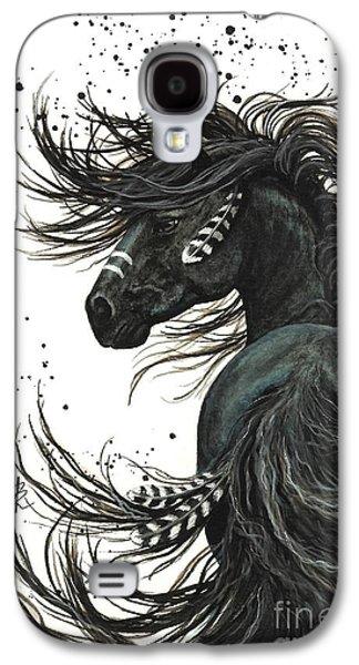Horse Galaxy S4 Case - Majestic Spirit Horse  by AmyLyn Bihrle
