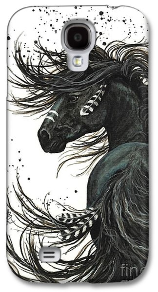Horse Galaxy S4 Case - Majestic Spirit Horse  by AmyLyn Bihrle