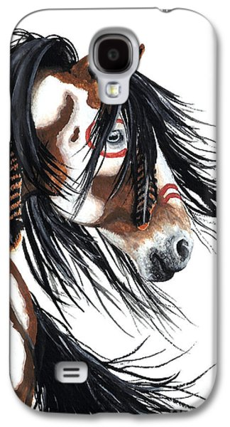 Majestic Pinto Horse Galaxy S4 Case by AmyLyn Bihrle