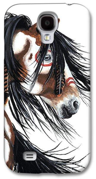 Horse Galaxy S4 Case - Majestic Pinto Horse by AmyLyn Bihrle