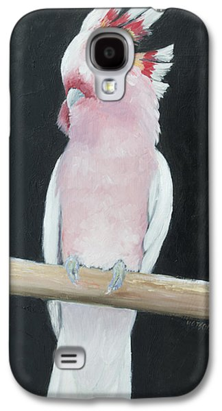 Major Mitchell Cockatoo Galaxy S4 Case by Jan Matson