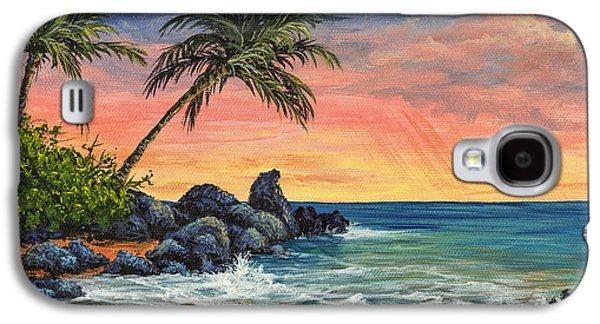 Makena Beach Sunset Galaxy S4 Case