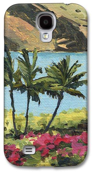 Makena Palms Galaxy S4 Case by Stacy Vosberg