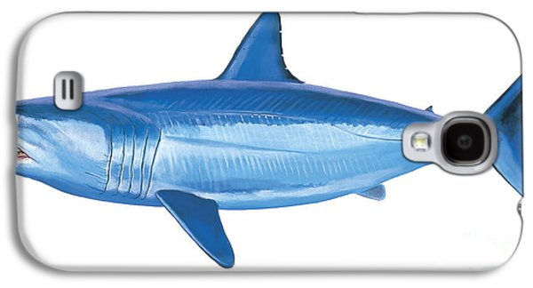 Sharks Galaxy S4 Case - Mako Shark by Carey Chen