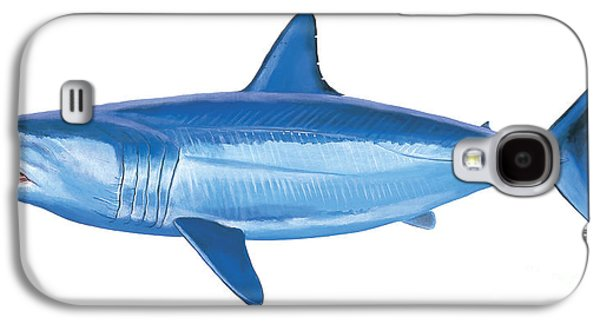 Mako Shark Galaxy S4 Case by Carey Chen