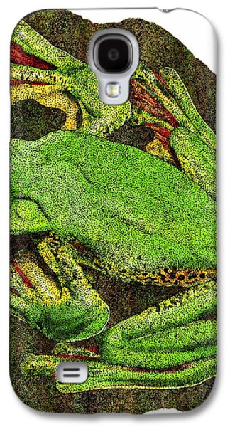 Malabar Gliding Frog Galaxy S4 Case by Roger Hall