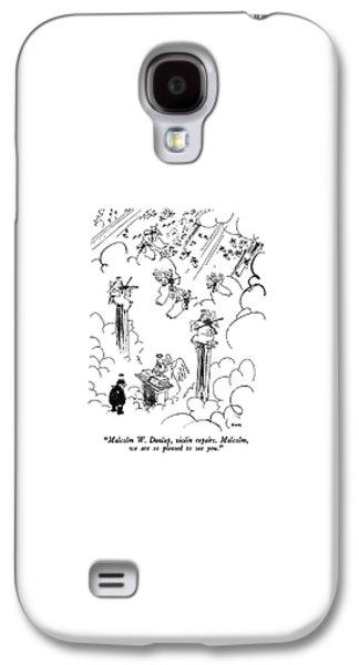 Malcolm W. Dunlap Galaxy S4 Case