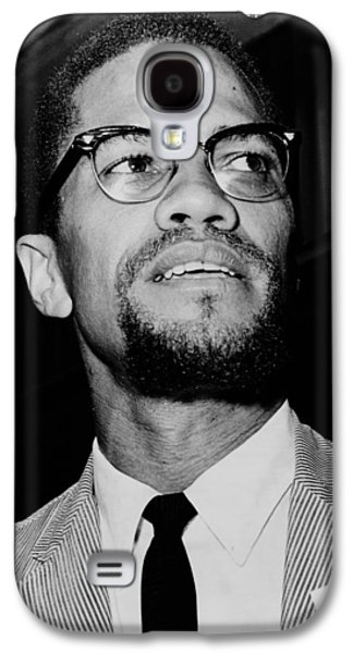 Malcolm X 1963 Galaxy S4 Case by Mountain Dreams