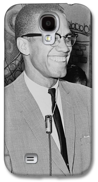 Malcolm X Galaxy S4 Case by Ed Ford