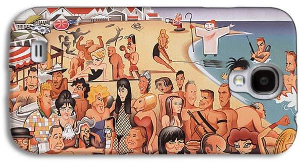 Malibu Beach Galaxy S4 Case by Robert Risko