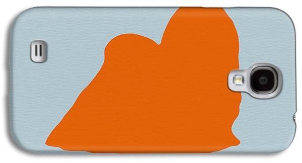 Maltese Orange Galaxy S4 Case by Naxart Studio