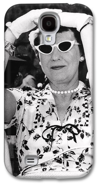 Mamie Eisenhower At West Point Galaxy S4 Case by Underwood Archives