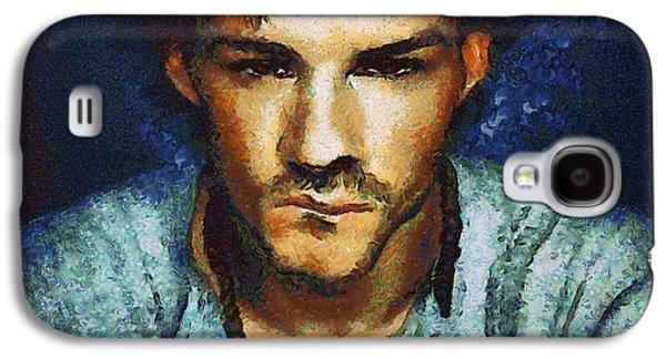 Man A La Van Gogh Galaxy S4 Case