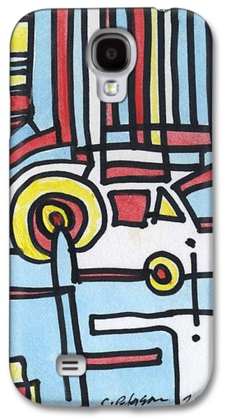 Man And His Car Galaxy S4 Case by Cathy Peterson