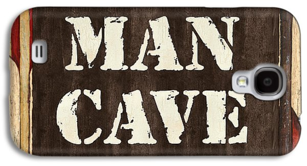 Man Cave Do Not Disturb Galaxy S4 Case by Debbie DeWitt