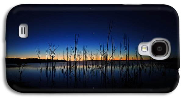 Manasquan Reservoir At Dawn Galaxy S4 Case