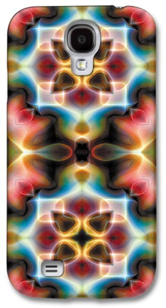 Mandala 77 For Iphone Double Galaxy S4 Case by Terry Reynoldson