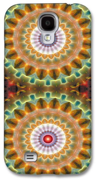 Mandala 87 For Iphone Double Galaxy S4 Case by Terry Reynoldson