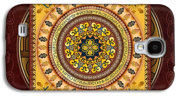 Mandala Armenia 'iypenkimta' Sp Galaxy S4 Case by Bedros Awak