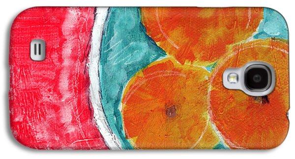 Mandarins Galaxy S4 Case by Linda Woods