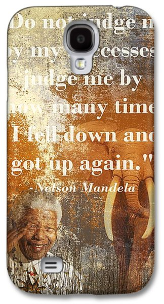 Mandela 2 Galaxy S4 Case by Sharon Lisa Clarke