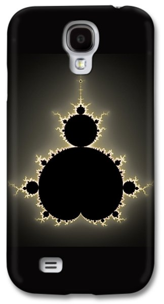 Mandelbrot Set Square Format Art Galaxy S4 Case by Matthias Hauser