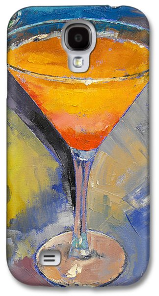 Mango Martini Galaxy S4 Case by Michael Creese