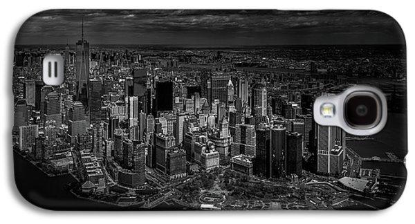 Manhattan - Bird's Eye View Galaxy S4 Case