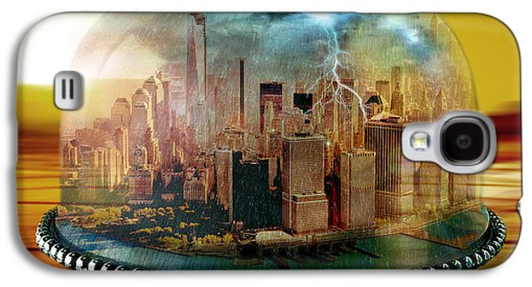 Manhattan Under The Dome Galaxy S4 Case