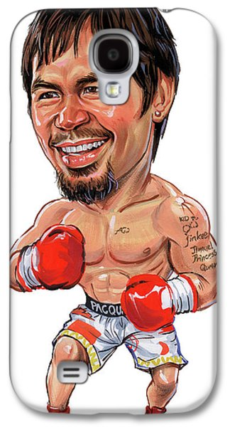 Manny Pacquiao Galaxy S4 Case by Art