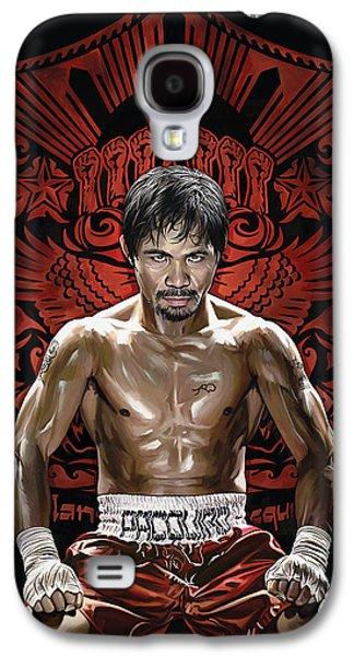 Manny Pacquiao Artwork 1 Galaxy S4 Case by Sheraz A