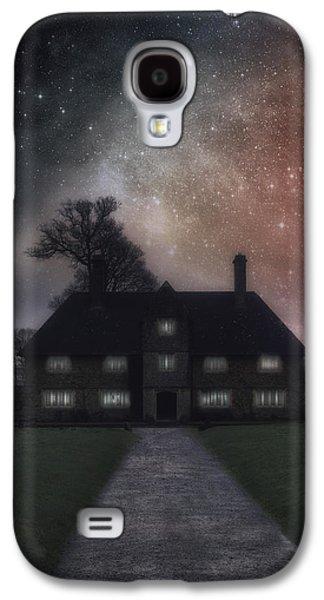 Manor At Night Galaxy S4 Case by Joana Kruse