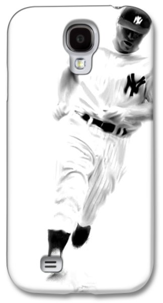 Mantles Gate  Mickey Mantle Galaxy S4 Case by Iconic Images Art Gallery David Pucciarelli