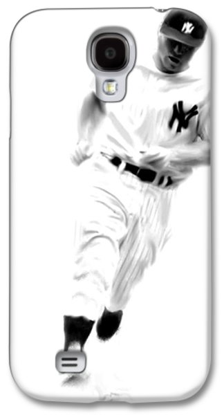 Mantles Gate  Mickey Mantle Galaxy S4 Case