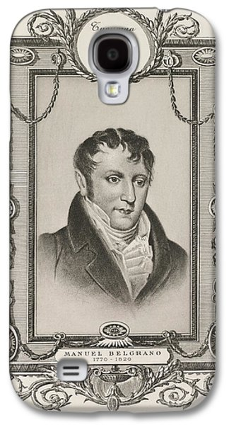 Manuel Belgrano Galaxy S4 Case by British Library