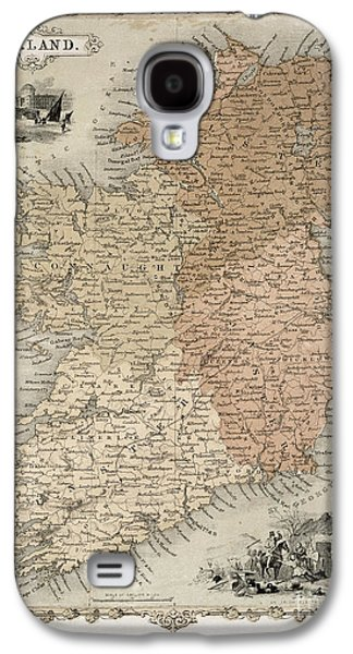 Map Of Ireland Galaxy S4 Case