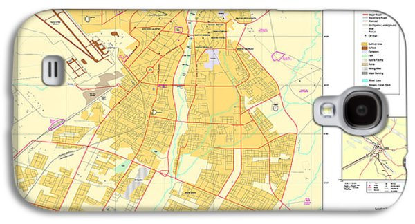 Maps Of Al Basrah And Kirkuk Iraq 2003 Galaxy S4 Case by MotionAge Designs