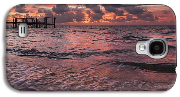 Marathon Key Sunrise Panoramic Galaxy S4 Case