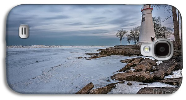 Marblehead Lighthouse  Galaxy S4 Case by James Dean