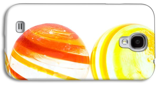 Marbles Galaxy S4 Case by Natalie Kinnear