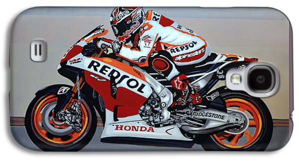 Marc Marquez Galaxy S4 Case by Paul Meijering
