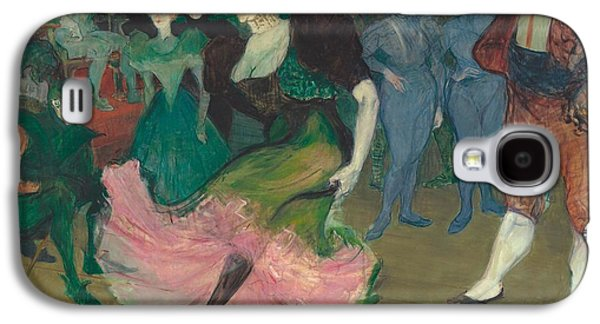 Marcelle Lender Dancing The Bolero In Chilperic Galaxy S4 Case by Toulouse-Lautrec