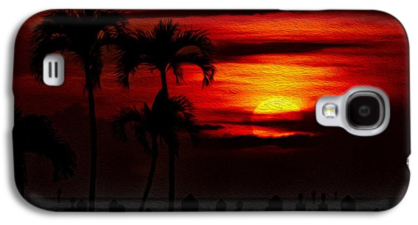 Marco Island Sunset 59 Galaxy S4 Case by Mark Myhaver