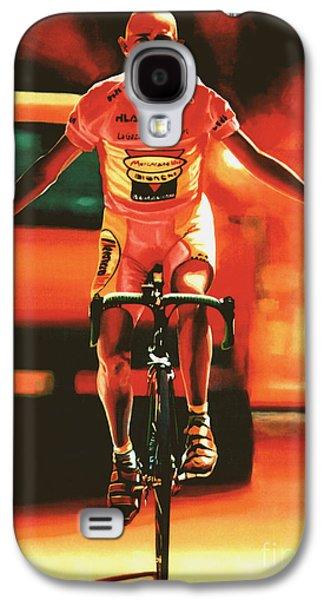 Marco Pantani Galaxy S4 Case by Paul Meijering