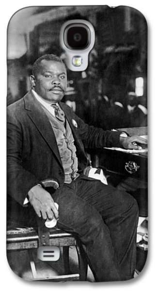 Marcus Garvey At His Desk Galaxy S4 Case by Underwood Archives