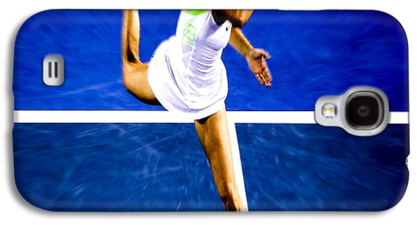 Maria Sharapova In A Zone Galaxy S4 Case by Brian Reaves